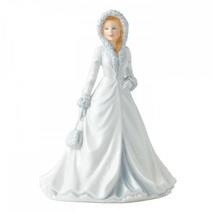 Royal Doulton Songs of Christmas PRETTY LADIES WHITE CHRISTMAS NEW IN TH... - $98.99