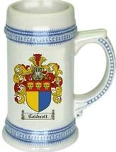 Caldecott Coat of Arms Stein / Family Crest Tankard Mug - $21.99