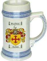 Carliell Coat of Arms Stein / Family Crest Tankard Mug - $21.99