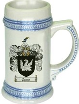 Ceane Coat of Arms Stein / Family Crest Tankard Mug - $21.99