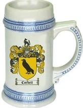 Corbett Coat of Arms Stein / Family Crest Tankard Mug - $21.99
