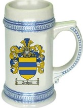 Crehall Coat of Arms Stein / Family Crest Tankard Mug - $21.99