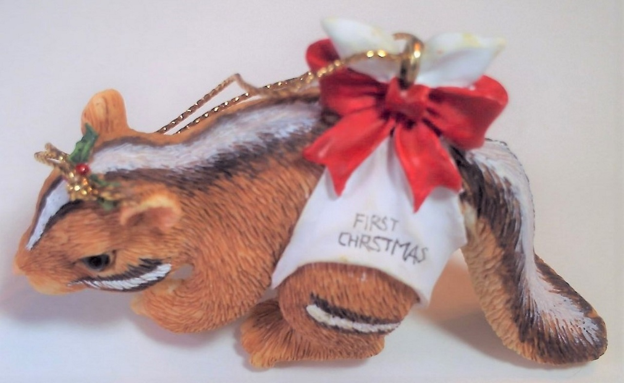 Silvestri Charming Tails Chauncey's First Christmas Ornament 86/710 - $9.99