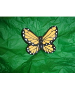 Large Monarch Ceramic Butterfly Magnet - $3.50