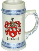 Dube Coat of Arms Stein / Family Crest Tankard Mug - $21.99