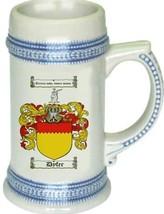 Dyfer Coat of Arms Stein / Family Crest Tankard Mug - $21.99
