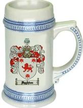 Dyghton Coat of Arms Stein / Family Crest Tankard Mug - $21.99