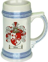 Eton Coat of Arms Stein / Family Crest Tankard Mug - $21.99