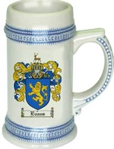Evans Coat of Arms Stein / Family Crest Tankard Mug - $21.99