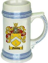 Fanning Coat of Arms Stein / Family Crest Tankard Mug - $21.99