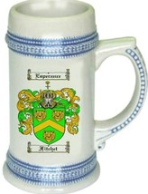 Fitchet Coat of Arms Stein / Family Crest Tankard Mug - $21.99
