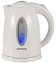 Ovente KP72W Cordless Electric Kettle, 1.7-Liter, White - $24.45