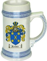 Forester Coat of Arms Stein / Family Crest Tankard Mug - $21.99
