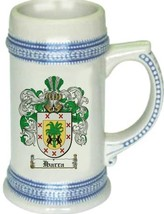 Ibarra Coat of Arms Stein / Family Crest Tankard Mug - $21.99