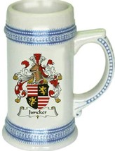 Juncker Coat of Arms Stein / Family Crest Tankard Mug - $21.99
