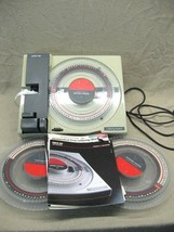 Vintage Kroy 80 Lettering Machine with 7 Font Discs + Manuals Guaranteed - $99.95