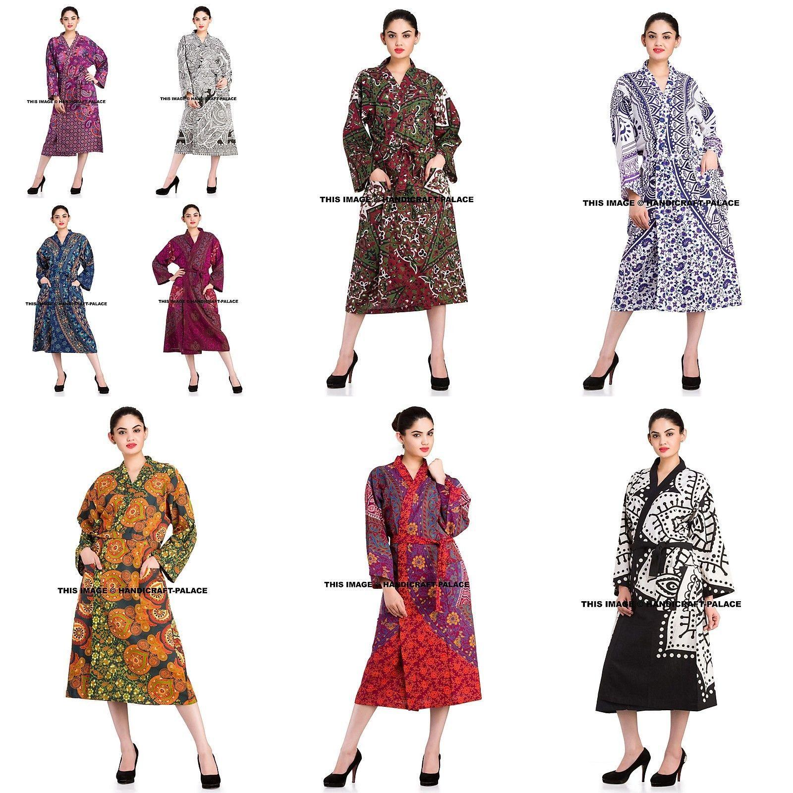 Cotton Women\'s 100% Cotton Kimono Robe and similar items