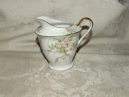 Vintage 1937-56 Theodore Haviland ROSALINDE CREAMER New York Gilt Trim - $31.68
