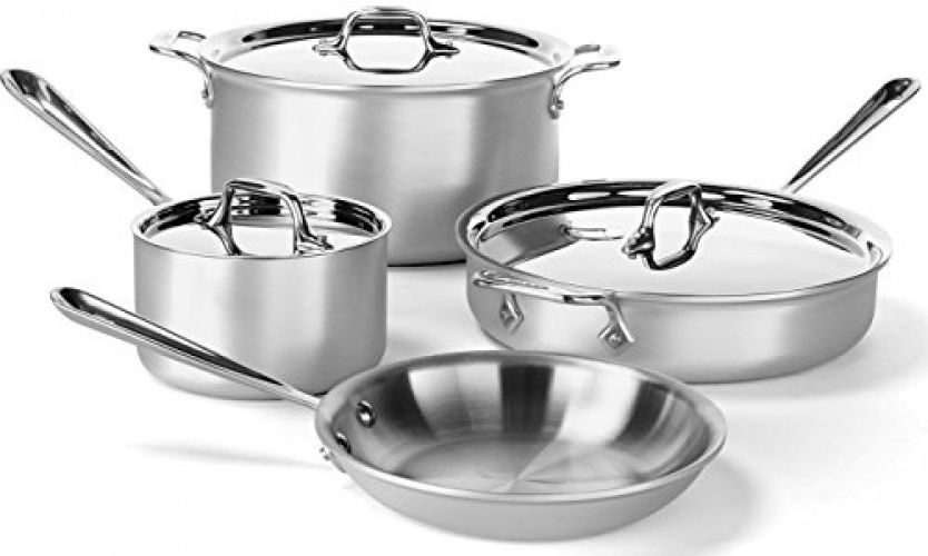 All-Clad 700393 MC2 Professional Master Chef 2 Stainless Steel Tri-Ply Bonded