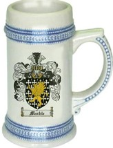Marble Coat of Arms Stein / Family Crest Tankard Mug - $21.99
