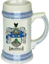 Montefiore Coat of Arms Stein / Family Crest Tankard Mug - $21.99