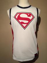 New Superman Sleeveless T Shirt Size S - $13.36