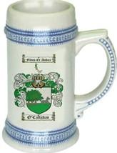 O'Callahan Coat of Arms Stein / Family Crest Tankard Mug - $21.99
