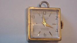 Vintage OVIVO 7J Gold-tone Pendant Necklace Watch Runs Fine Hand wind - $24.70