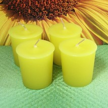 Sunflower PURE SOY Votives (Set of 4) - $7.00