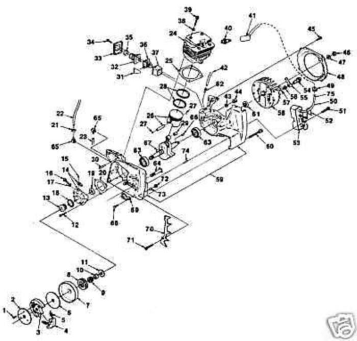 Part 64124 Up06815 Needle Bearing Homelite And 50 Similar Items