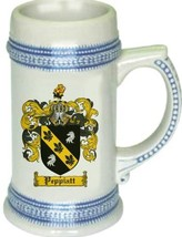 Peppiatt Coat of Arms Stein / Family Crest Tankard Mug - $21.99