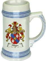 Pfluger Coat of Arms Stein / Family Crest Tankard Mug - $21.99