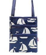 Sailboat Small Hipster Cross Body Swing Pack Me... - $14.69