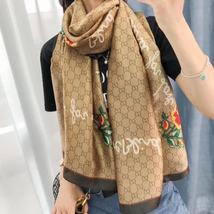 Christmas Gift!!! Brown Color Fashion Scarves Smooth Silk Scarf Wrap G1049 - $16.00