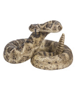 Pacific Giftware Realist Look Rattle Snake Resin Figurine Statue - $85.53
