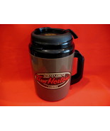 Tim Hortons Coffee Thermos Cup Mug Vintage HUGE Thermos Collector Souvenir - $16.95
