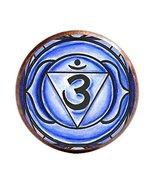 "6th Chakra Ajna 3rd Eye 1"" Circle Antique Copper Adjustable Ring - $14.95"
