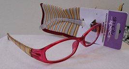 "Foster Grant Simply Specs Reading Glasses ""Viola Red"" +1.50 - $9.99"