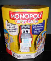 2011 Monopoly Crazy Cash Game NEW - $32.00