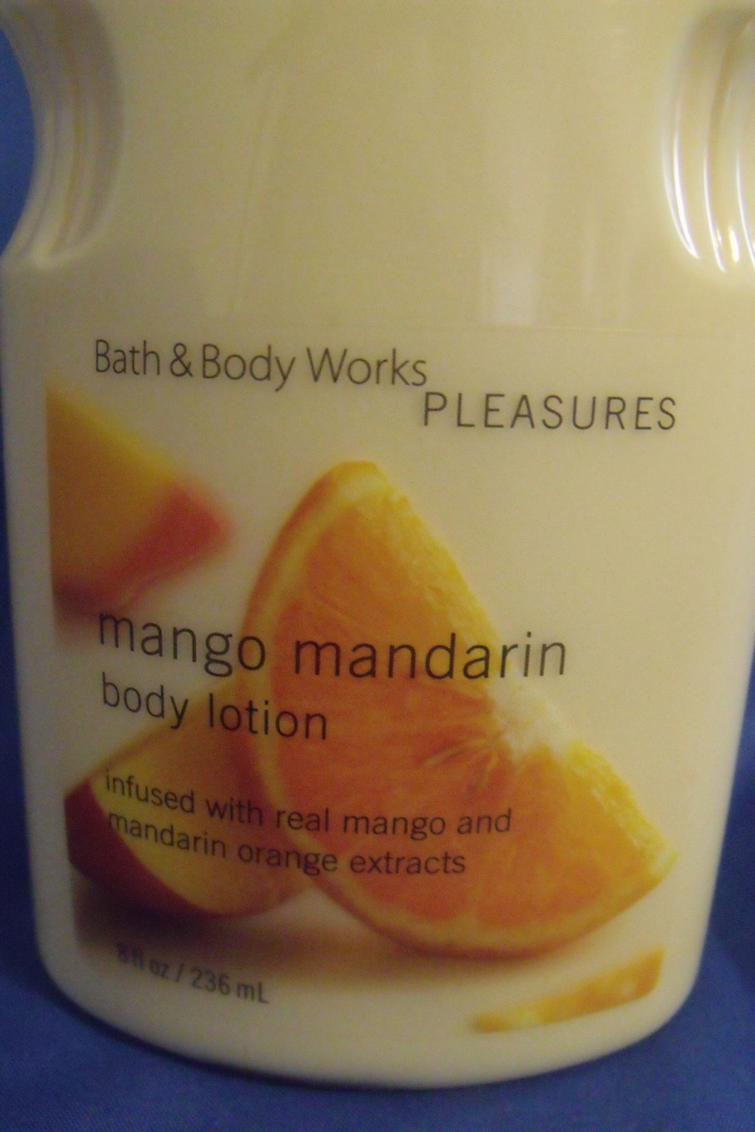 Bath and Body Works New Mango Mandarin Body Lotion 8 oz