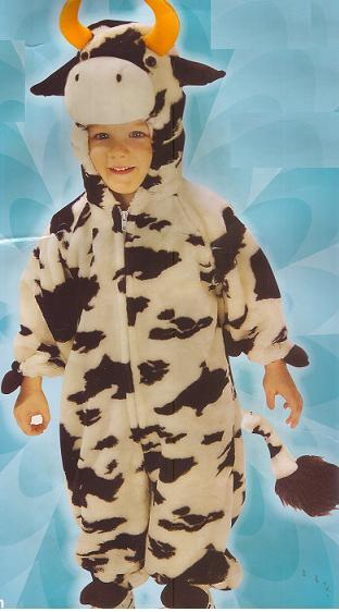 LITTLE COW Childs Costume 4/6 Deluxe PLUSH