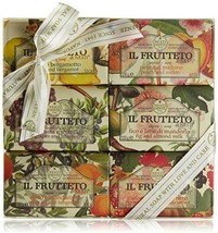 Il Frutteto Soap Gift Set of 6 psc x 150 gr. by Nesti Dante Made in Italy - $42.99