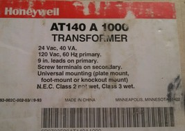 Honeywell General Purpose Transformer AT140A1000 - $11.00
