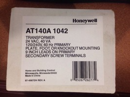 Honeywell General Purpose Transformer AT140A 1042 - $28.00