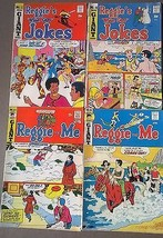 ARCHIE COMICS lot of (4) issues Reggie & Me, Wise Guy Jokes (1971-1973) VG+ - $9.89