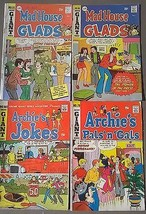 ARCHIE COMICS lot of (4) issues Mad House Glads Archie Pals Gals (1969-1... - $9.89