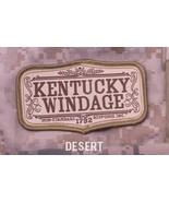 KENTUCKY WINDAGE DESERT TACTICAL COMBAT BADGE MORALE VELCRO MILITARY PATCH - $8.99