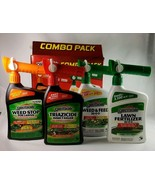 Spectracide Combo Pack 4 Weed Stop Triazicide Weed & Feed Lawn Fertilize... - $44.50