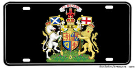 Coat of Arms of Scotland Aluminum License plate - $13.81