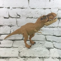 Jurassic World Tyrannosaurus Rex T-Rex Action Figure Chomping Jaw Hasbro... - $16.82